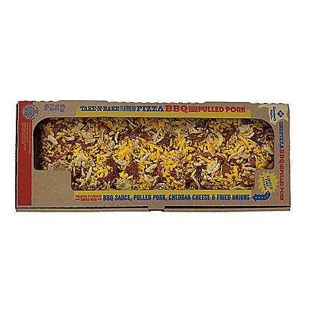 Member's Mark Take 'N Bake BBQ-Style Pulled Pork Flatbread Pizza (16 oz.)