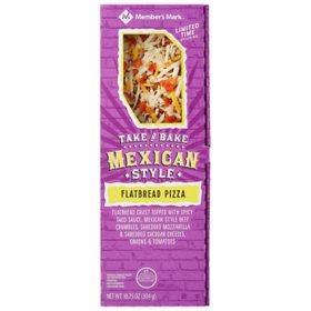 Member's Mark Take 'N Bake Mexican Style Flatbread Pizza (10.75 oz.)