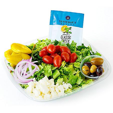 Member's Mark Cafe Greek Salad, Single Serving