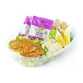 Member's Mark Salmon Caesar Salad Kit