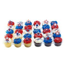 Members Mark White And Chocolate Cupcakes 30