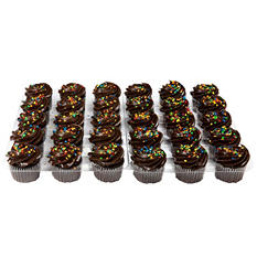 Daily Chef Chocolate Cupcakes with Chocolate Buttercream  (30 ct.)