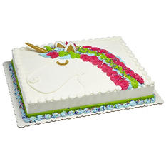 Member's Mark Half Sheet White Cake with White Butter Creme Icing