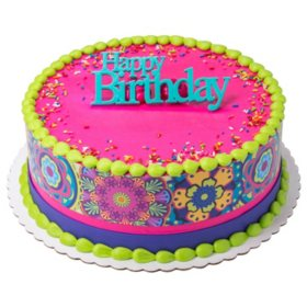 Admirable Members Mark 10 Round Cake Sams Club Funny Birthday Cards Online Alyptdamsfinfo