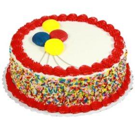 Amazing Members Mark 10 Round Chocolate Cake With Vanilla Icing Sams Club Funny Birthday Cards Online Alyptdamsfinfo
