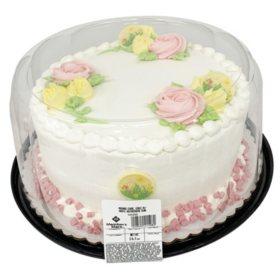Members Mark Valentines Day 10 Round Cake