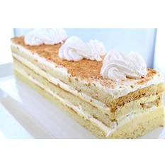 Crème Brulée Bar Cake