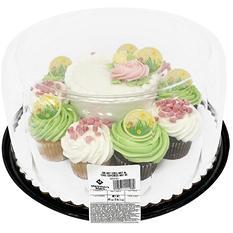 """Member's Mark Valentine's Day 5"""" Cake w/ 10 Cupcakes"""