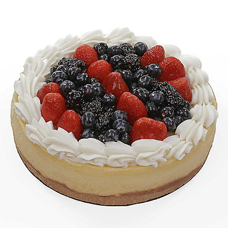 Member's Mark Mixed Berry Topped Cheesecake (75 oz.)