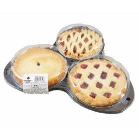 """Member's Mark 6"""" Pie Trio (3 pk.)"""