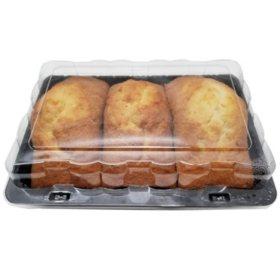Member's Mark Vanilla Pound Cake (48 oz., 3 pk.)
