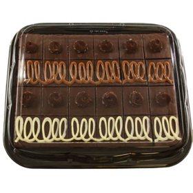 Members Mark Gourmet Brownie Platter 20