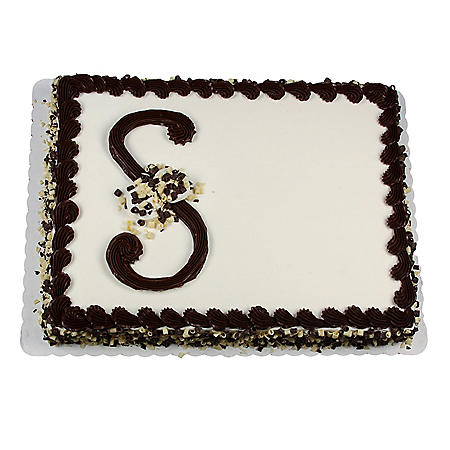 Member's Mark Half Sheet Elegance Cake with Whipped Icing