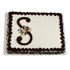Member's Mark Chocolate Half Sheet Elegance Cake with Whipped Icing