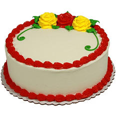 "Member's Mark 10"" Rose Cake"