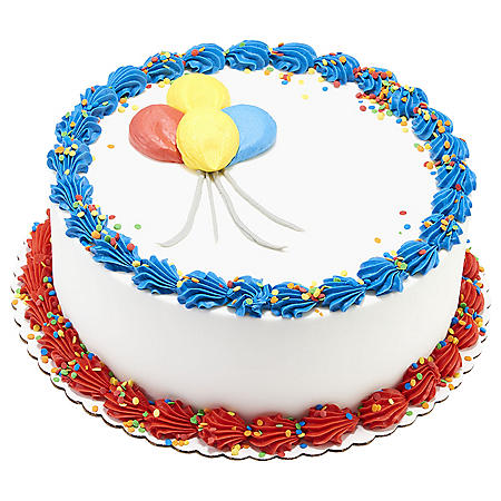"Member's Mark 10"" Balloon Cake"