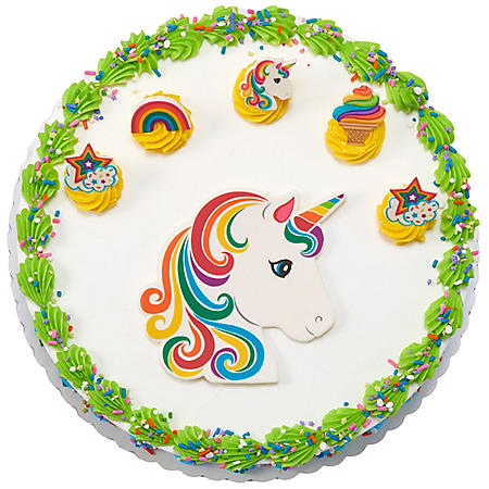 "Member's Mark 10"" Unicorn Cake with Regular Icing"
