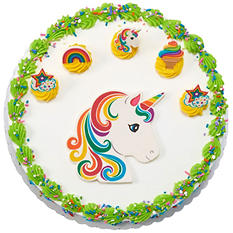 "Member's Mark 10"" Unicorn Cake with Regular Icing"