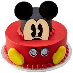 Astonishing Members Mark 2 Tier Mickey Or Minnie Cake Sams Club Funny Birthday Cards Online Fluifree Goldxyz