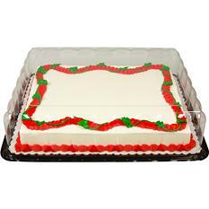 Member's Mark Half Sheet Aloha Cake with Regular Icing