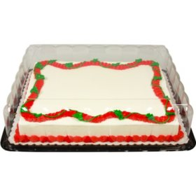 Member's Mark Half Sheet Aloha Cake with Regular Icing