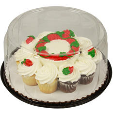 "Member's Mark 5"" Aloha Cake with 10 Cupcakes"