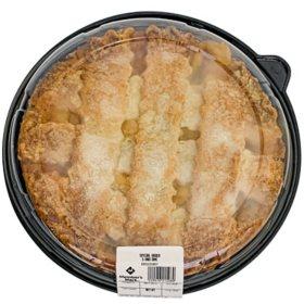 """Member's Mark 10"""" Peach Lattice Pie (44 oz.)"""