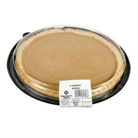 "Member's Mark 12"" Pumpkin Pie (60 oz.)"