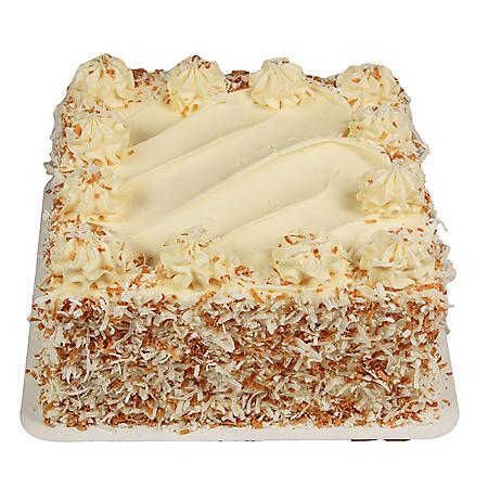 Member's Mark Square Italian Creme Cake (83 oz.)