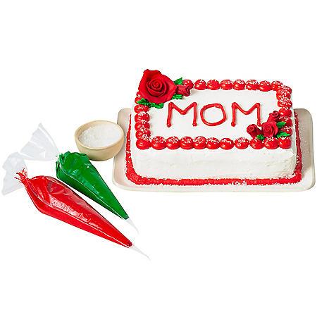 Valentine's Day DIY Cake Kit (Choose White, Chocolate or Marble)