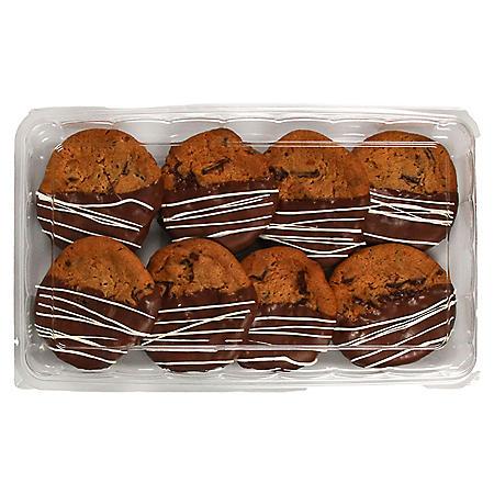 Member's Mark Dipped Chocolate Chunk Cookies (8 ct.)