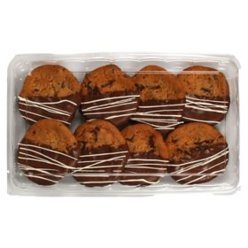 Member's Mark Dipped Chocolate Chunk Cookies (8 ct.)