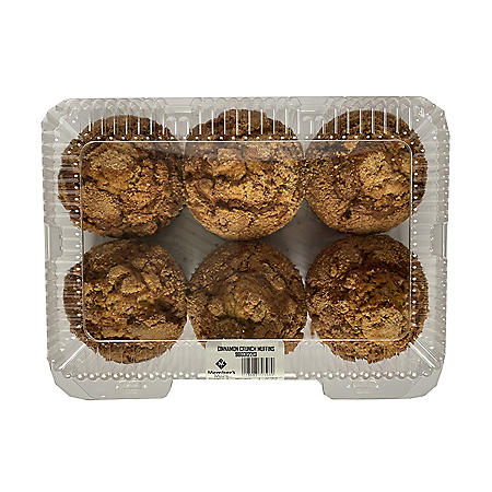 Member's Mark Cinnamon Crunch Muffin (6 ct.)