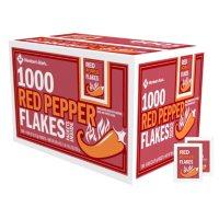Member's Mark Red Pepper Flakes Single-Serve Packets, Bulk Wholesale Case (1,000 ct.)
