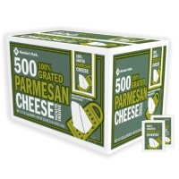 Member's Mark Parmesan Cheese Single-Serve Packets, Bulk Wholesale Case (500 ct.)