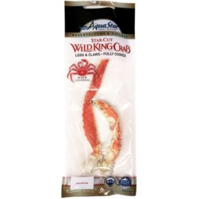 Star Cut Wild King Crab Legs (priced per pound)