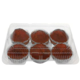 Carrot Muffins (6 ct.)