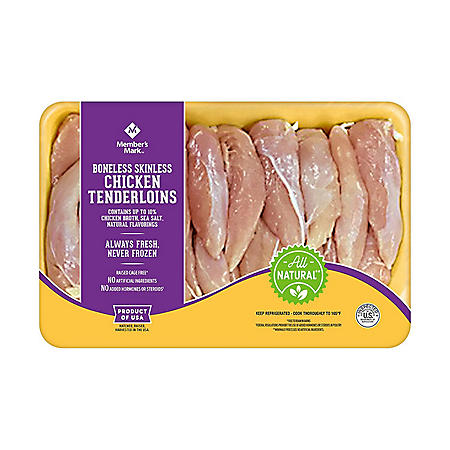 Member's Mark Chicken Tenderloins, Fresh (priced per pound)