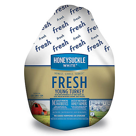 Honeysuckle White Fresh Whole Turkey (priced per pound)