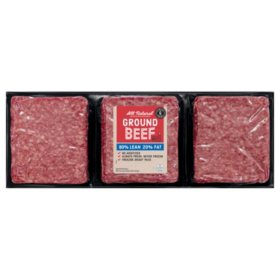 Member's Mark 80% Lean / 20% Fat Ground Beef (priced per pound)