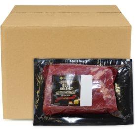 Member's Mark USDA Choice Corned Beef Brisket Multivac, Bulk Wholesale Case (Priced per Pound)