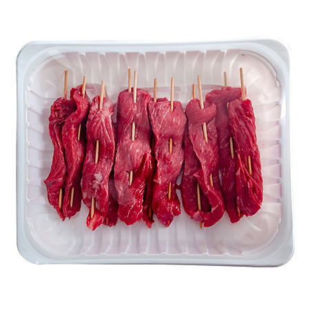 Sirloin Beef Skewers (per each)