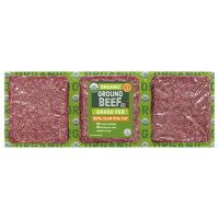 85% Lean / 15% Fat Organic Grass Fed Ground Beef (priced per pound)