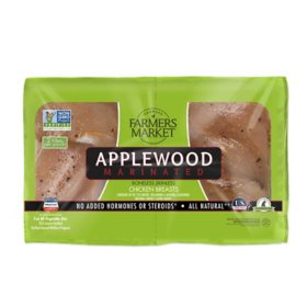 Georges Farmers Market Applewood Marinated Boneless Skinless Chicken Breast Fillets (priced per pound)