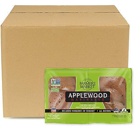Forester Farmer's Market Applewood Boneless Breast, Bulk Wholesale Case (priced per pound)