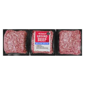 Member's Mark 80% Lean 20% Fat Ground Beef (priced per pound)