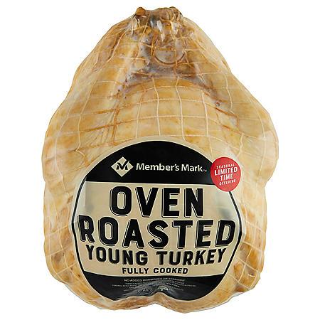 Member's Mark Oven-Roasted Whole Turkey (9-14 lbs)