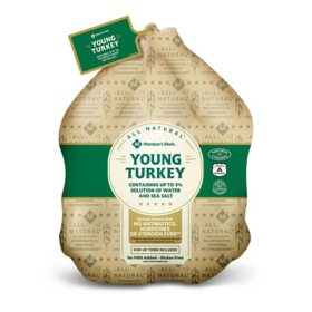 Member's Mark All-Natural Whole Turkey (16-24 lbs)