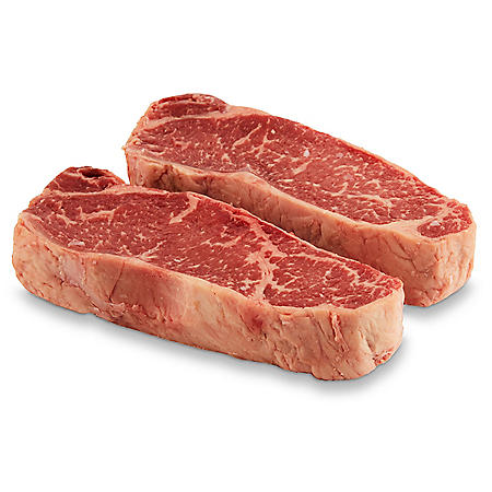 Member's Mark Prime Strip Steak (priced per pound)