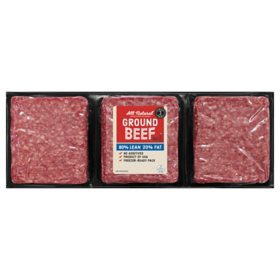Member's Mark 80% Lean, 20% Fat Ground Beef (priced per pound)